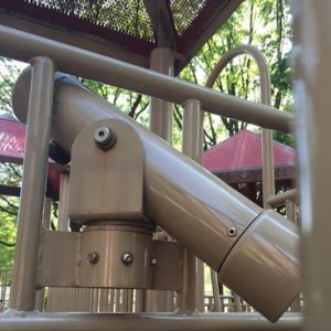crush and shear example - playground inspection NY
