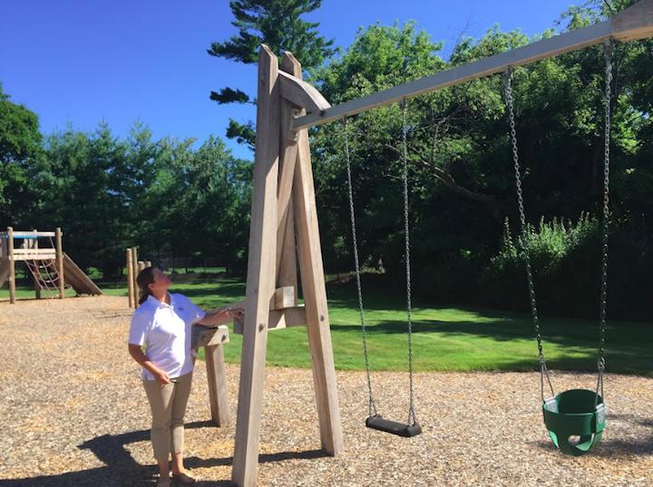 Wooden Playground Equipment Inspection