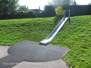 Metal Playground Equipment- metal slide